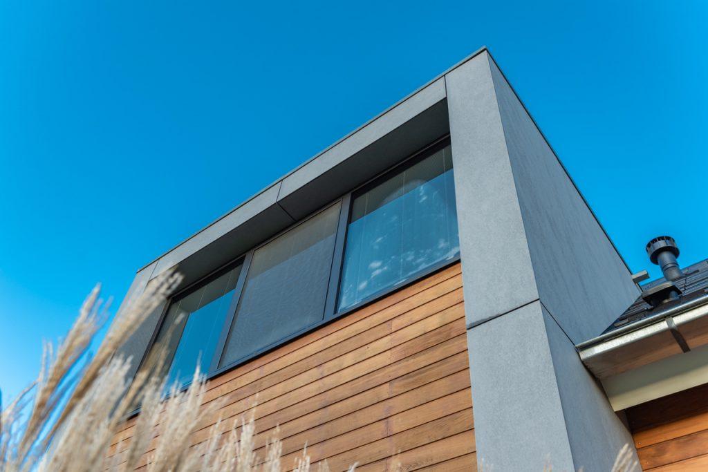 Nieuwbouw vrijstaande woning in Loenen - detail raam