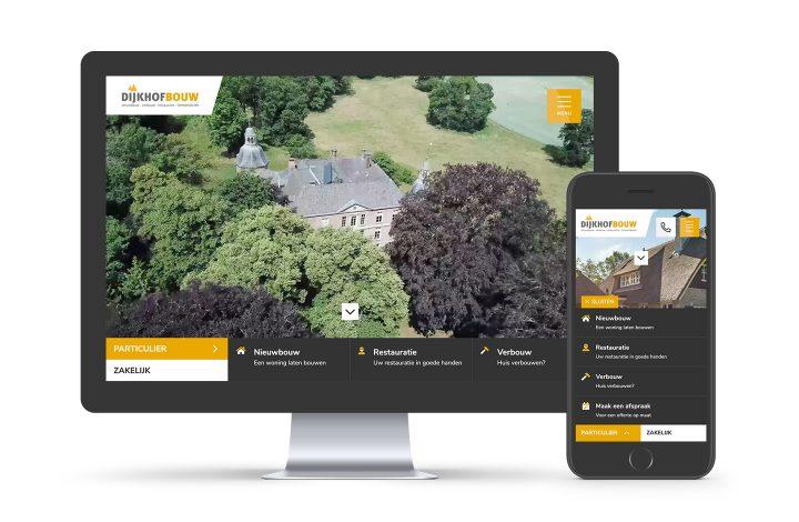 Nieuwe website online Dijkhof Bouw